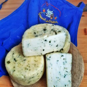 caciotta formaggio aromatizzato erba cipollina