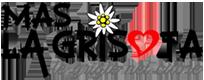 Logo Mas La Grisota Val dei Mocheni